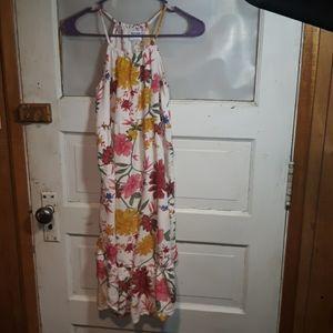 Cute Floral Dress (Girls 10/12)